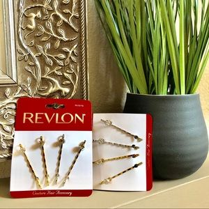 2 Packs of NWT Revlon Couture CZ Bobby Pins